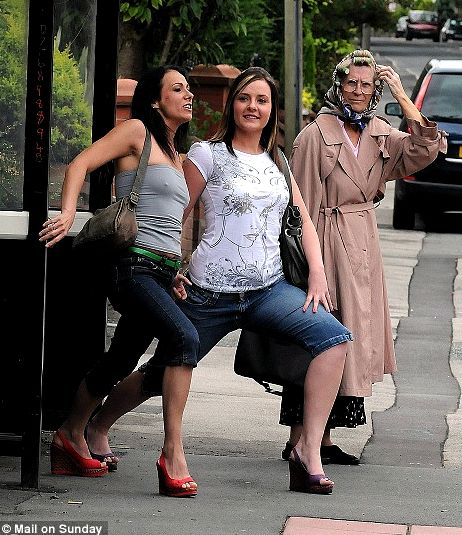 every stop helps bus stop yoga