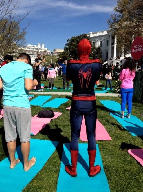 white-house-easter-yoga-2014-spiderman