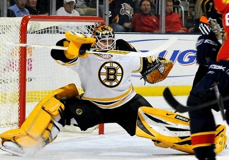 Tim Thomas Boston Bruins Yoga