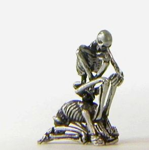 Skeletonian - The Thinker