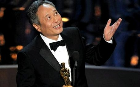 Ang Lee accepts Oscar for best director, 2013.