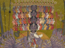 India, Bilaspur. ca. 1740. Catherine and Ralph Benkaim Collection.